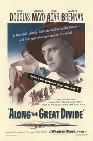 Along the Great Divide - Poster
