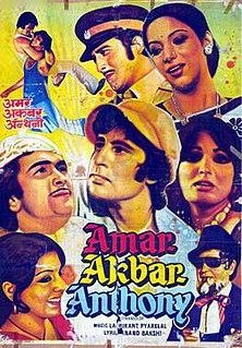 <i>Amar Akbar Anthony</i> 1977 Indian Hindi film by Manmohan Desai