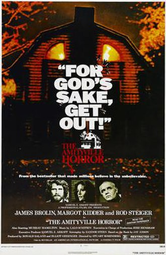 The Amityville Horror (1979 film) - Theatrical release poster