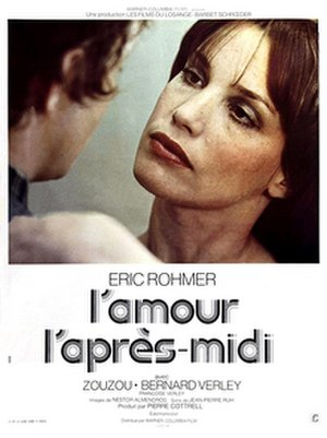 Love in the Afternoon (1972 film) - Film poster