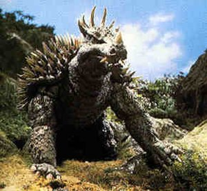 Anguirus - Anguirus in Destroy all Monsters