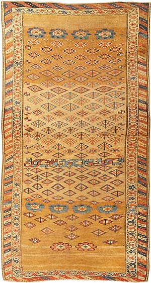 Kurdish rugs - Image: Antique kurdish rug 429871