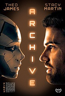 Archive 2020 UK Gavin Rothery Theo James Stacy Martin Rhona Mitra  Drama, Sci-Fi, Thriller