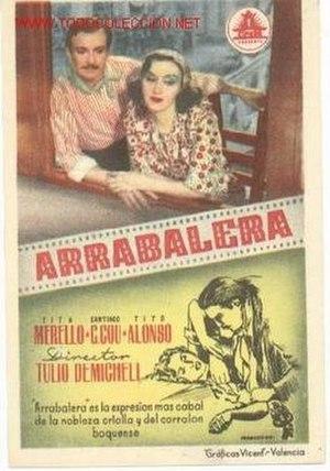 Arrabalera - Image: Arrabaleraposter