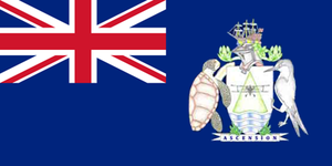 Flag of Ascension Island - Image: Ascension Island flag proposal B