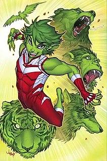 Beast Boy DC comic character