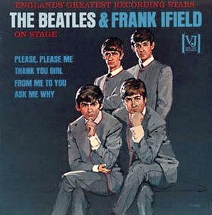 Jolly What! - Image: Beatles and Frank Ifield on Stage