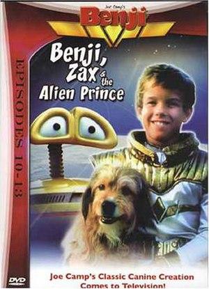 Benji, Zax & the Alien Prince - DVD cover