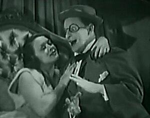 Bobby Clark (comedian) - Bobby Clark with Leni Stengel, in Kickin' the Crown Around (1933)