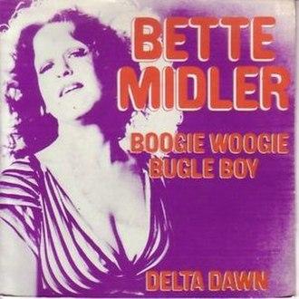 Boogie Woogie Bugle Boy - Image: Boogie Woogie Bugle Boy Bette Midler