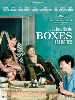 <i>Boxes</i> (film) 2007 film by Jane Birkin