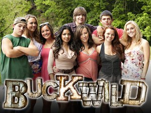 Buckwild (TV series) - Shain, Anna, Katie, Salwa, Joey, Ashley, Tyler, Cara, and Shae (from left)