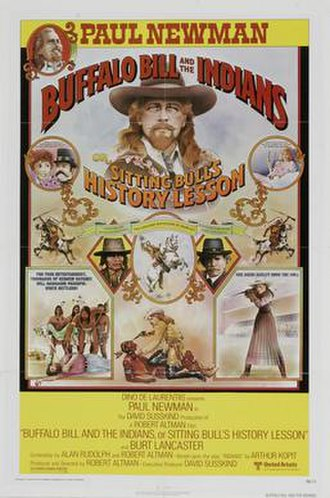 Buffalo Bill and the Indians, or Sitting Bull's History Lesson - Theatrical release poster