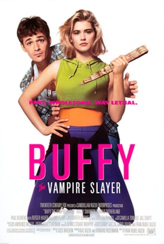 Buffy the Vampire Slayer (film) - Theatrical release poster