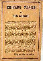 chicago carl sandburg essays