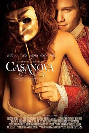 Casanova (2005 film) - Theatrical release poster