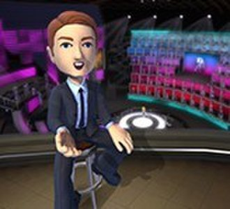 1 vs. 100 (2009 video game) - As host of 1 vs. 100 Live, Chris Cashman/James McCourt is represented by an Xbox Live Avatar.