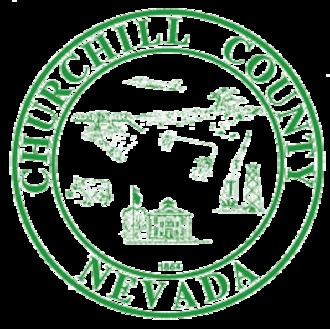 Churchill County, Nevada - Image: Churchill County, Nevada seal