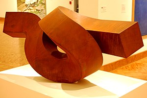 Clement Meadmore - Dervish, 1972. Currier Museum of Art, Manchester, New Hampshire