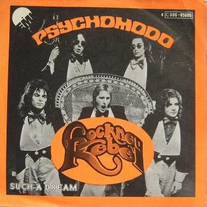 Psychomodo - Image: Cockney Rebel Psychomodo 1974 Belgian Single