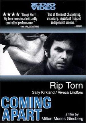 Coming Apart (film) - Image: Coming Apart poster