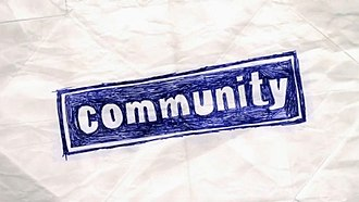 Community (TV series) - Image: Community title