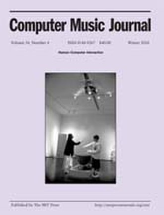 Computer Music Journal - Image: Computermusicjournal lowres