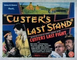 Custer's Last Stand (serial) - Image: Custer's Last Stand Film Poster