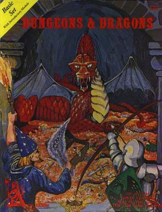 Editions of Dungeons & Dragons - Image: D&d original