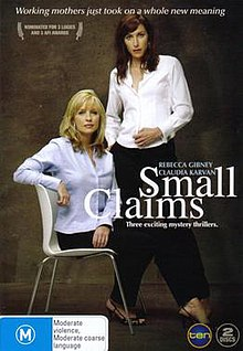 DVD Cover for 'Small Claims' (telemovie).jpg