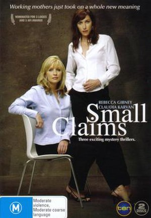 Small Claims (TV film) - Image: DVD Cover for 'Small Claims' (telemovie)
