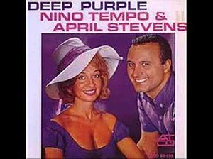 Deep Purple (song) - Image: Deep Purple Nino Tempo & April Stevens