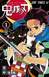 <i>Demon Slayer: Kimetsu no Yaiba</i> Japanese manga series by Koyoharu Gotoge and its adaptations