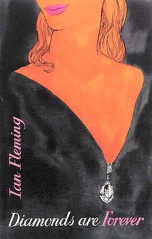 Diamonds Are Forever (novel) - First edition cover