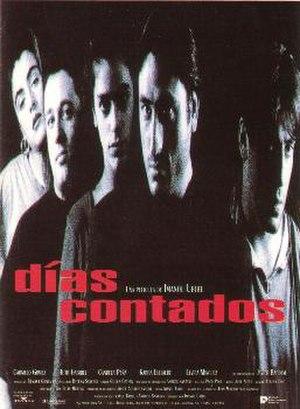 Días contados (film) - Theatrical release poster