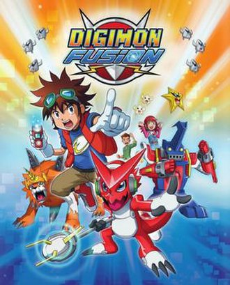Digimon Fusion - Promotional poster