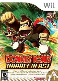 <i>Donkey Kong Barrel Blast</i> 2007 video game
