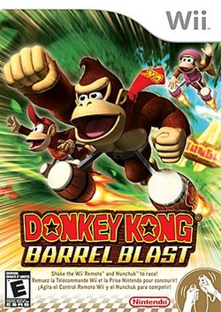donkey kong barrel blast wikipedia