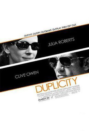 Duplicity (film) - Theatrical release poster