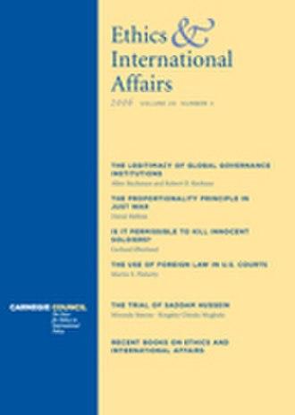 Ethics & International Affairs - Image: EIA Journal