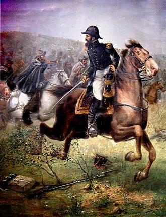 Montoneras - Martín Miguel de Güemes leading a guerrilla of gauchos