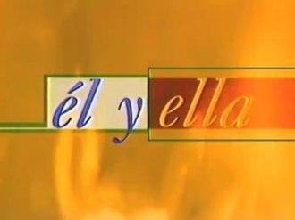Él y ella (TV series) - Image: El y Ella logo 2
