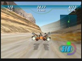 Star Wars Episode I: Racer - Image: Ep 1Racer Flamethrower