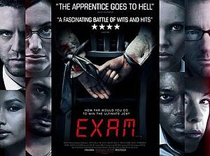 Exam (2009 film) - Theatrical poster