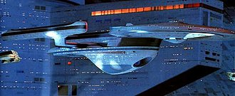 Spacecraft in Star Trek - Image: Excelsior 07