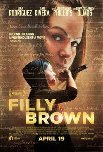 Filly Brown - Theatrical release poster