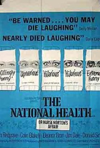 The National Health (film) - Theatrical release poster