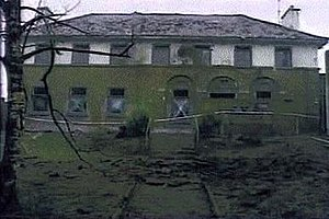 Provisional IRA East Tyrone Brigade - The Fintona RUC/Army base damaged by mortar fire, 27 December 1993