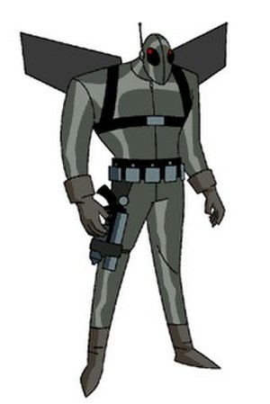 Firefly (DC Comics) - Garfield Lynns as Firefly in The New Batman Adventures.