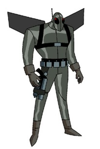 Firefly (DC Comics) - Firefly in The New Batman Adventures.